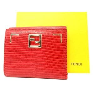 Fendi  Wallet Red
