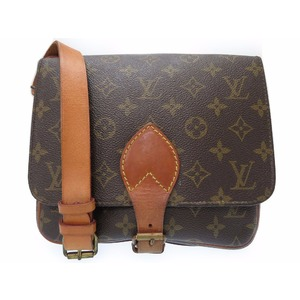 Louis Vuitton Monogram Cartouchiere M51253 Women's Shoulder Bag Monogram