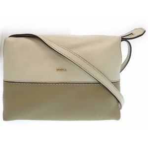 Furla Leather Women's  Shoulder Bag Beige,Khaki