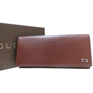 Gucci Leather Wallet Brown