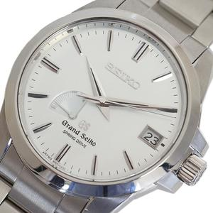 Seiko Grand Seiko Spring Drive Stainless Steel,Silver Men's Watch 9R65-0AG0