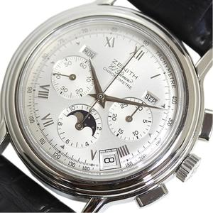 Zenith Chronomaster Automatic Stainless Steel Watch 14/01.0240.410