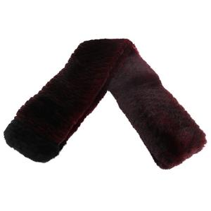 Chanel Women's Fur Stole Bordeaux,Black A73766