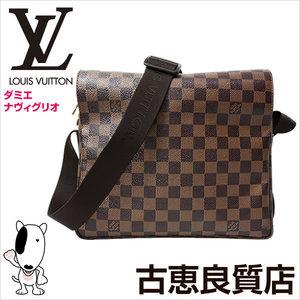 Louis Vuitton Naviglio Shoulder Bag Damier Ebene N45255