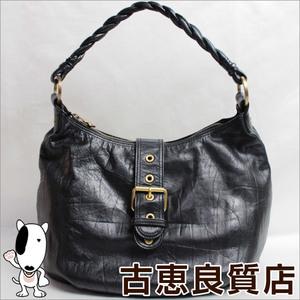 Patrick Cox Leather Leather Shoulder Bag Black