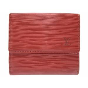 Louis Vuitton Epi M63483 Men's Wallet (bi-fold) Brown