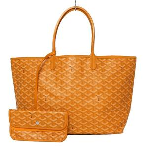 Goyard イエロー レディース トートバッグ Women's Hemp Cotton Tote Bag Yellow