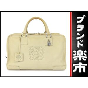 Loewe Leather Handbag Beige