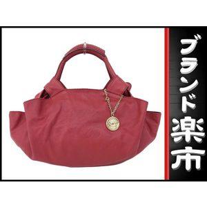 Loewe Loewe Leather Nappaire Handbag Red Bag