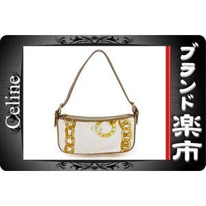 Celine Leather Canvas Bag