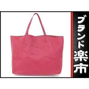 Celine Leather Leather Tote Bag