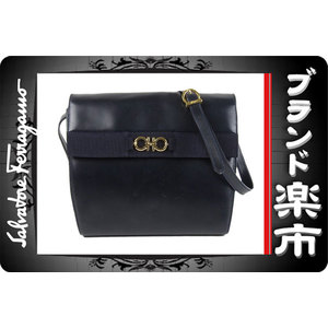 Salvatore Ferragamo Gancini  Bag Navy
