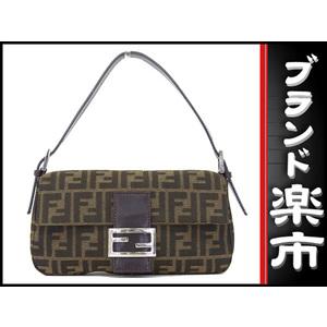 Fendi Zucca Zucca Shoulder Bag Brown