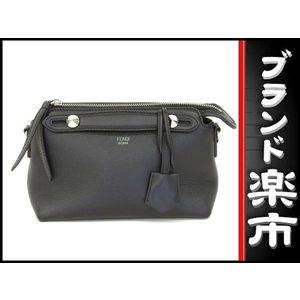 Fendi Leather Leather Bag Black