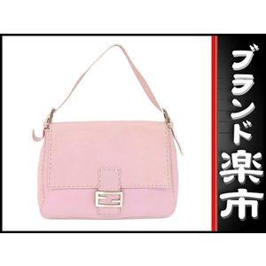 Fendi Leather Shoulder Bag Pink