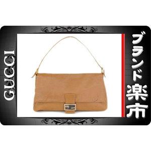 Fendi Leather Leather Shoulder Bag Brown,Camel