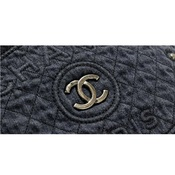 シャネル(Chanel) デニム レディース デニム ショルダーバッグ,ハンドバッグ ネイビー