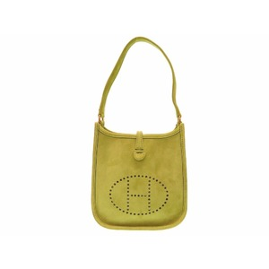 Hermes Women's  Handbag Anis Green