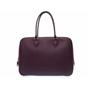 Hermes Plume Women's  Handbag Raisin,Purple