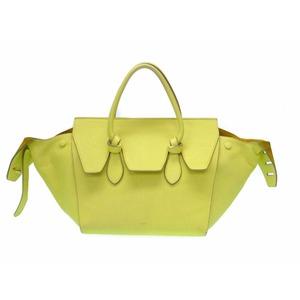 Celine Leather Women's Leather Handbag Yellow