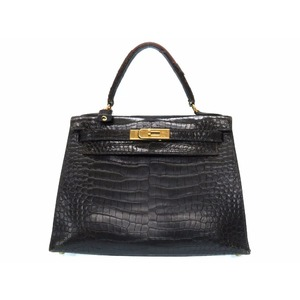 Hermes Kelly Women's  Handbag Black