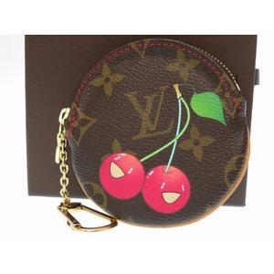 Louis Vuitton Monogram Cherry M95043 Women's  Wallet Monogram Cherry