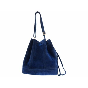 Hermes Market Women's Leather Shoulder Bag Blue