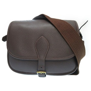Hermes Leather Women's  Shoulder Bag Brown