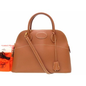 Hermes Bolide Women's  Handbag Brown