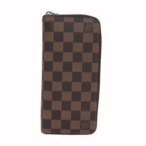 Louis Vuitton Damier Zippy · Wallet Vertical N 61207 Ladies Men's