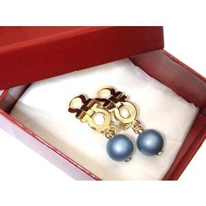 Salvatore Ferragamo Gancini Color Ball Earrings 0541 Salvatore Unisex