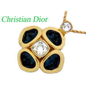 R Dior Stone Gold Necklace 0288