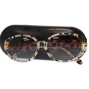 Fendi Eyewear Sunglasses Vintage Silver Black 0081 Unisex