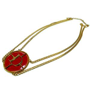 Dior Gold Chain Belt Necklace 0046 Vintage