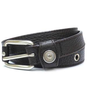 Bottega Veneta Leather Belt Brown Unisex ☆ 0167
