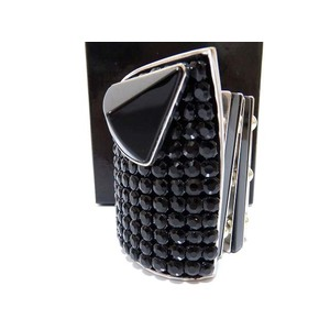 Emporio Armani Bangle Bracelet Black 0096