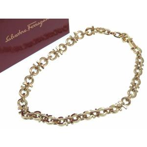 Salvatore Ferragamo Choker Ganchini Vintage Necklace Gold Ladies 0116