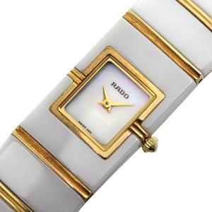 ラドー RADO  ダイアスター  963.0425.3 クォーツ セラミック/YG シェル レディース 腕時計