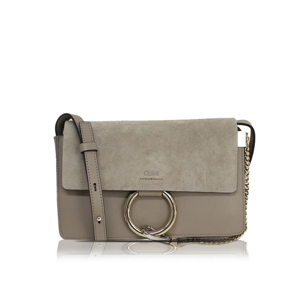 Chloé Chloe Faye Small Shoulder Bag 3 S 1127 - H 20 Motty Gray Women s  Ladies 00405f026