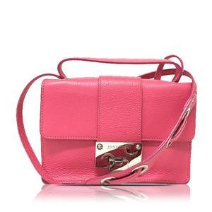 Jimmy Choo 2 Way Handbag Pink Shoulder Bag Ladies