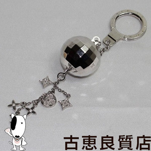 Lv Louis Vuitton Porto Clegrittor M65378 Key Holder Ring Mirror Ball