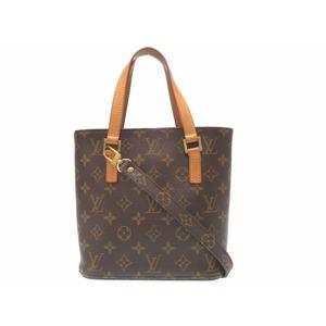 Louis Vuitton M51172 Women's Handbag Brown,Monogram