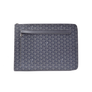 Goyard Sorbonne Coated Canvas Document Case Gray
