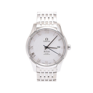 Used Omega Devil Co-axial 431.10.41.21.02.001 White Dial Back Scales Gifts Christmas ◇
