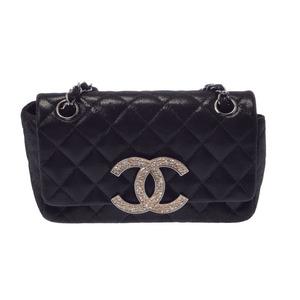 シャネル(Chanel) マトラッセ COCO<UNK>ー<UNK> レディース レザー ショルダーバッグ ブラック