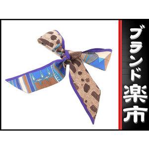 Hermes Twillie Ribbon Silk Scarf