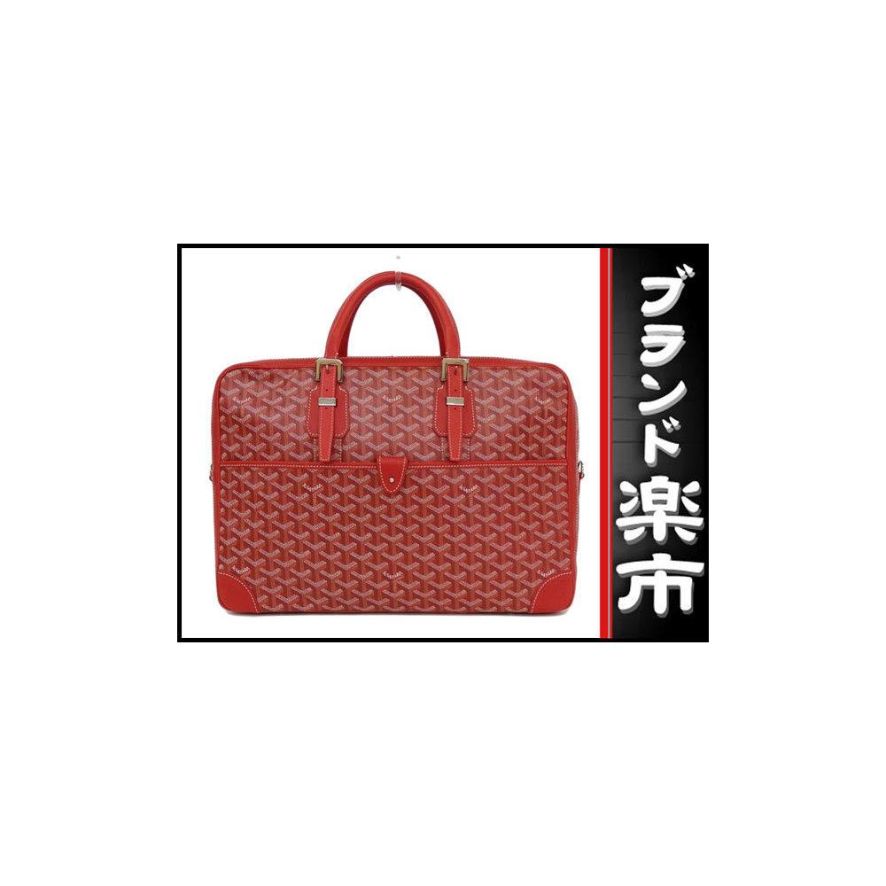 Goyard Go Yard Goyar Ambassador Mm Briefcase Rouge Bag