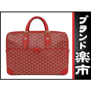 Goyard Go Yard Goyar Ambassador Mm Briefcase Rouge Bag