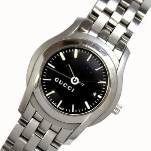グッチ GUCCI  Gクラス  YA055518 クォーツ レディース ブラック 腕時計