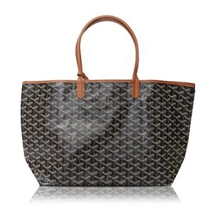 Goyar Goyard Saint Louis Pm Black × Brown Tote Bag Women's